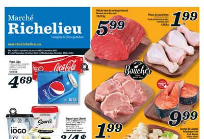 Marche Richelieu Flyer October 21 to 27
