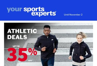 Sports Experts Flyer October 20 to November 2