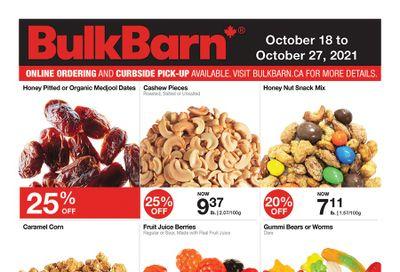 Bulk Barn Flyer October 18 to 27