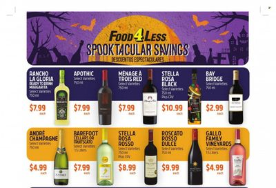 Food 4 Less (CA) Weekly Ad Flyer October 19 to October 26