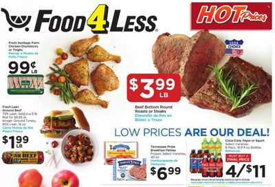 Food 4 Less (IL) Weekly Ad Flyer October 19 to October 26