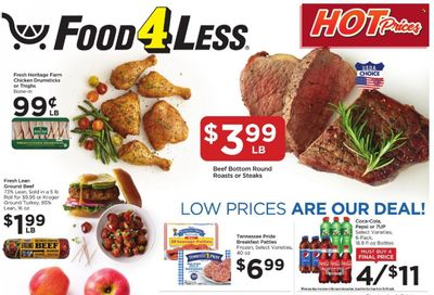 Food 4 Less (IN) Weekly Ad Flyer October 19 to October 26