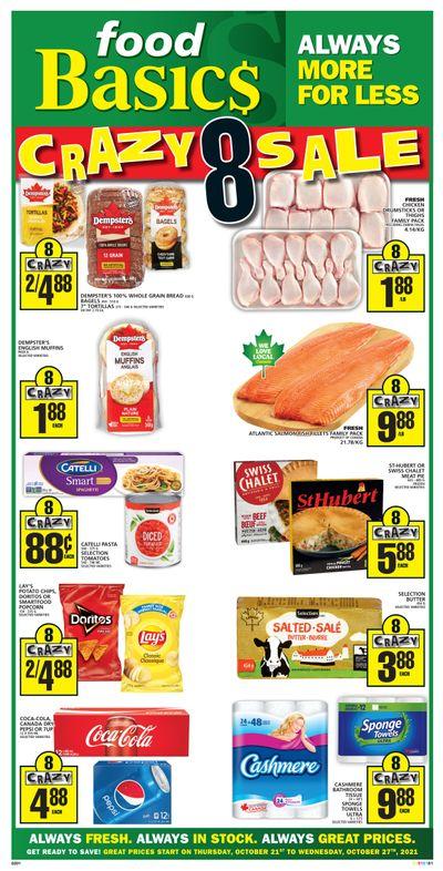 Food Basics Flyer October 21 to 27
