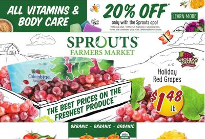 Sprouts Weekly Ad Flyer October 19 to October 26