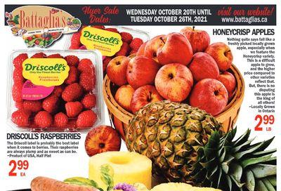 Battaglia's Marketplace Flyer October 20 to 26