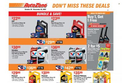 Autozone Weekly Ad Flyer October 20 to October 27