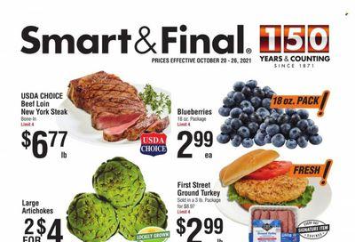 Smart & Final (AZ, CA) Weekly Ad Flyer October 20 to October 27