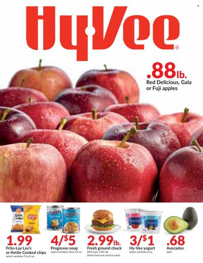 Hy-Vee (IA) Weekly Ad Flyer October 20 to October 27
