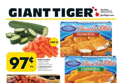 Giant Tiger (Atlantic) Flyer October 20 to 26