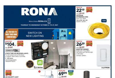 Rona (Atlantic) Flyer October 21 to 27