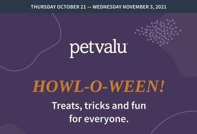 Pet Valu Flyer October 21 to November 3