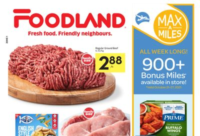 Foodland (ON) Flyer October 21 to 27