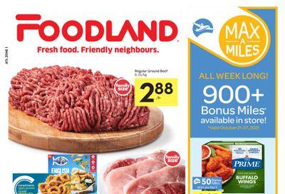 Foodland (Atlantic) Flyer October 21 to 27