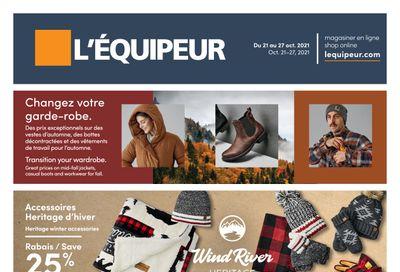 L'Equipeur Flyer October 21 to 27