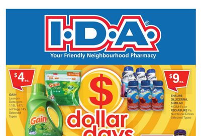 I.D.A. Flyer October 22 to 28