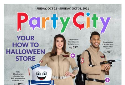 Party City Flyer October 22 to 31