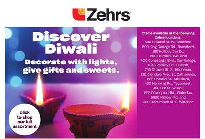 Zehrs Discover Diwali Flyer October 21 to November 10