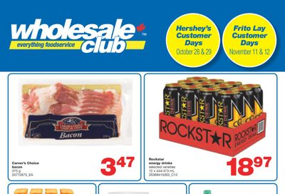 Wholesale Club (ON) Flyer October 21 to November 10