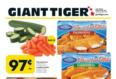 Giant Tiger (West) Flyer October 20 to 26