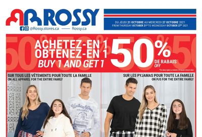 Rossy Flyer October 21 to 27