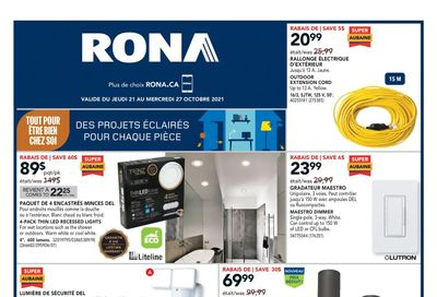 Rona (QC) Flyer October 21 to 27