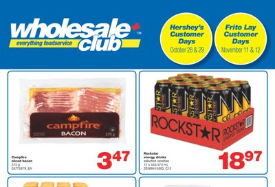 Wholesale Club (West) Flyer October 21 to November 10