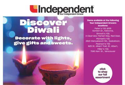 Independent Grocer (West) Discover Diwali Flyer October 21 to November 10