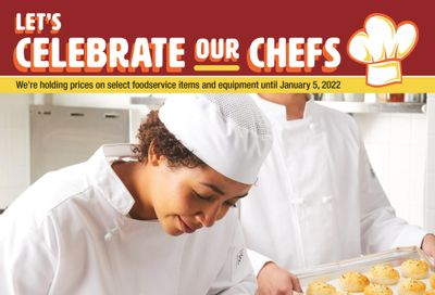 Wholesale Club (West) Let's Celebrate Our Chefs Flyer October 21 to January 5