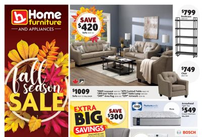Home Furniture (BC) Flyer October 21 to 31