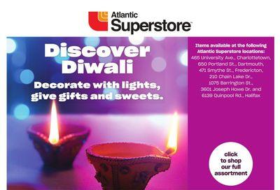 Atlantic Superstore Discover Diwali Flyer October 21 to November 10