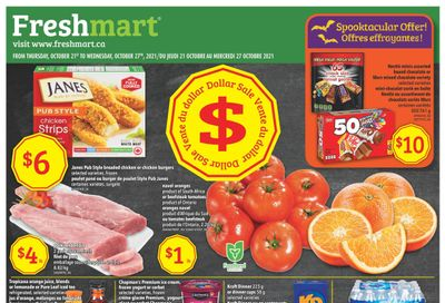 Freshmart (ON) Flyer October 21 to 27