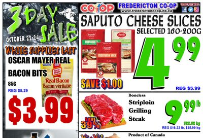 Fredericton Co-op Flyer October 21 to 27