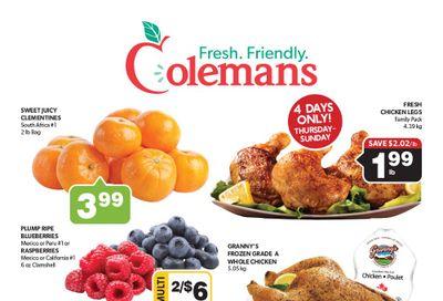 Coleman's Flyer October 21 to 27
