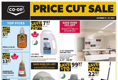 Co-op (West) Home Centre Flyer October 21 to 27