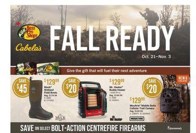 Bass Pro Shops Flyer October 21 to November 3