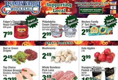 Bulkley Valley Wholesale Flyer October 21 to 27