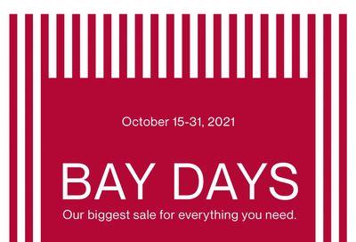 Hudson's Bay Flyer October 15 to 31