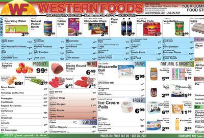 Western Foods Flyer October 20 to 26