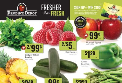 Produce Depot Flyer October 20 to 26