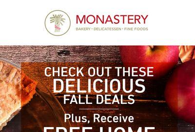 Monastery Bakery Flyer October 20 to 27