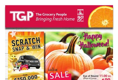 TGP The Grocery People Flyer October 21 to 27