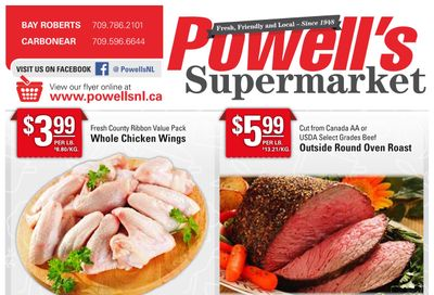 Powell's Supermarket Flyer October 21 to 27