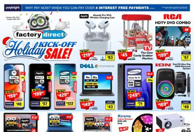 Factory Direct Flyer October 20 to 27