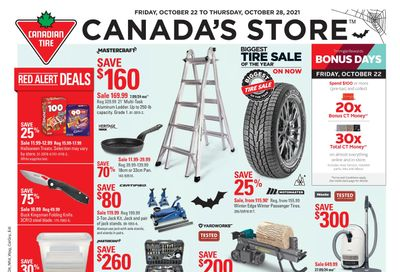 Canadian Tire (Atlantic) Flyer October 22 to 28
