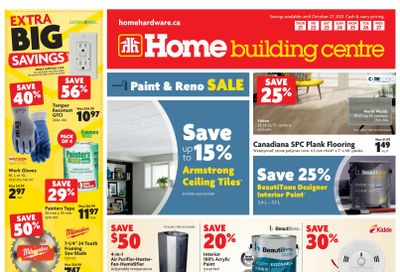 Home Building Centre (ON) Flyer October 21 to 27