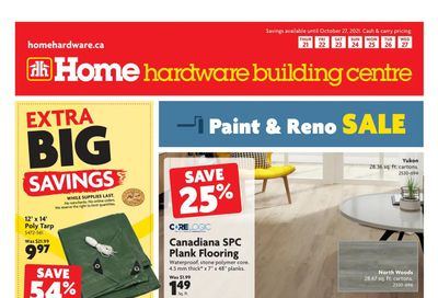 Home Hardware Building Centre (Atlantic) Flyer October 21 to 27