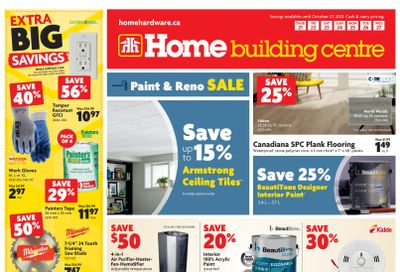 Home Building Centre (Atlantic) Flyer October 21 to 27