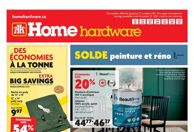Home Hardware (QC) Flyer October 21 to 27