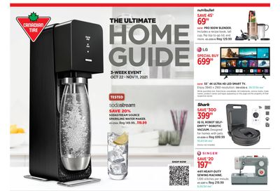 Canadian Tire The Ultimate Home Guide Flyer October 22 to November 11