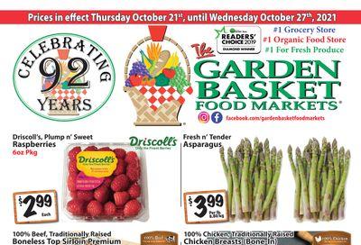 The Garden Basket Flyer October 21 to 27